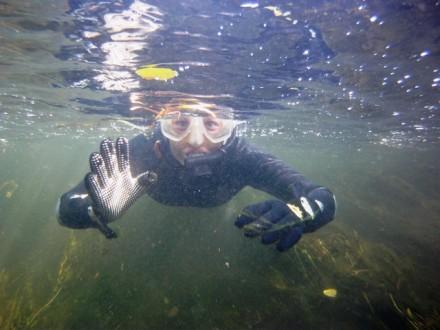 rzeka pod wodą