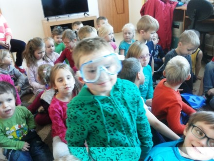 wykłady nurkowe w przedszkolu