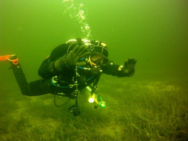 Święto zmarłych pod wodą