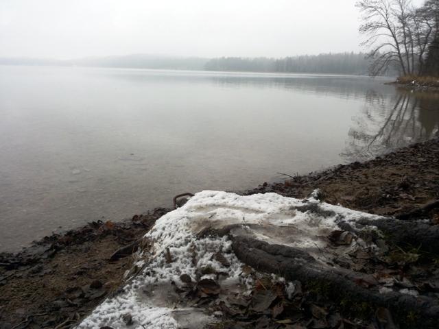 zima nad Hańczą