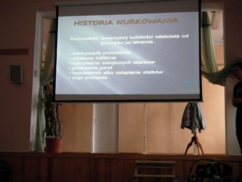 prezentacja nurkowa