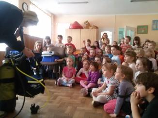 przedszkolaki i nurkowanie