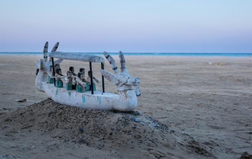 drewniany okręt