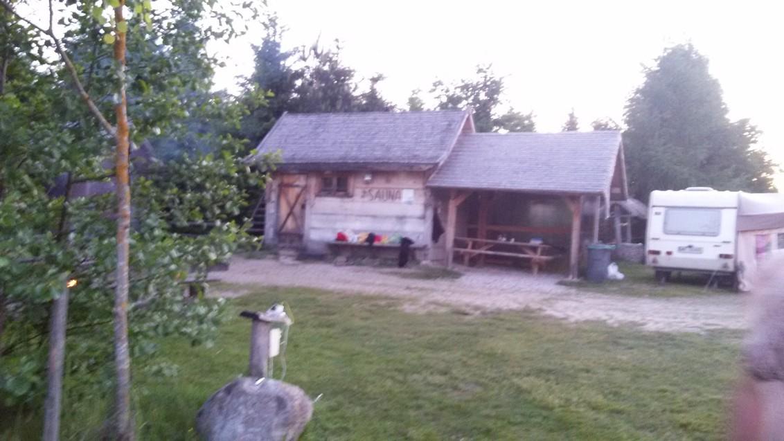 sauna w Budzie Ruskiej