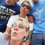 grupowe dziubki selfi