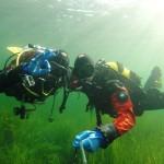 kumple pod wodą