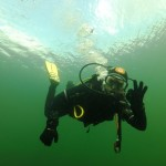 pozdrowienia z pod wody