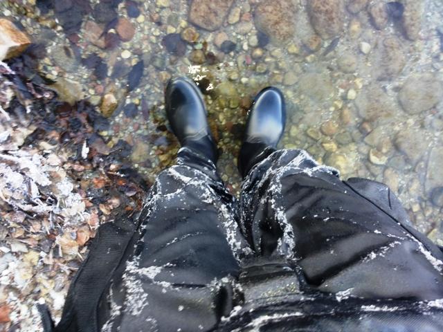 nurkowanie w zimę