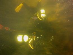 nurkowanie w rzece