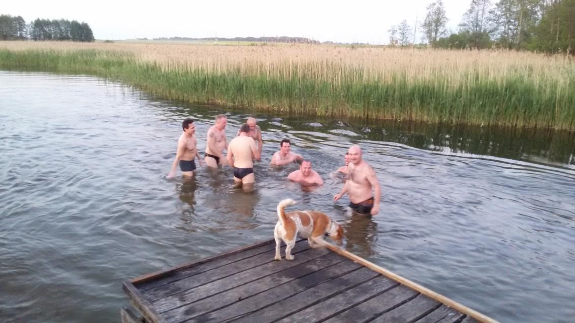 Bydgoszcz w rzece