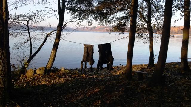kurs na suchy skafander w Jeziorze Hańcza