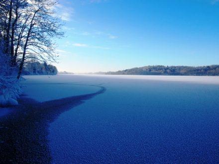 Zimowo – lodowa Hańcza